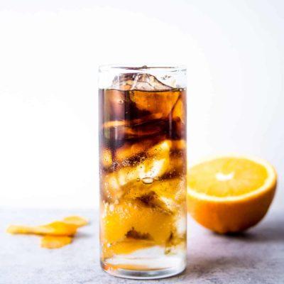 Cold Brew Coffee Spritzer